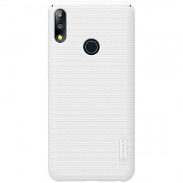 Накладка Nillkin Frosted Shield пластиковая для Asus Zenfone Max Pro M2 ZB631KL White (белая)
