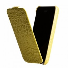 Чехол Borofone Crocodile Leather case для iPhone 5C Green