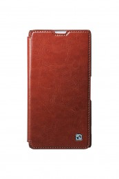 Чехол HOCO Crystal Leather Case для Sony Xperia ZR Brown (коричневый)